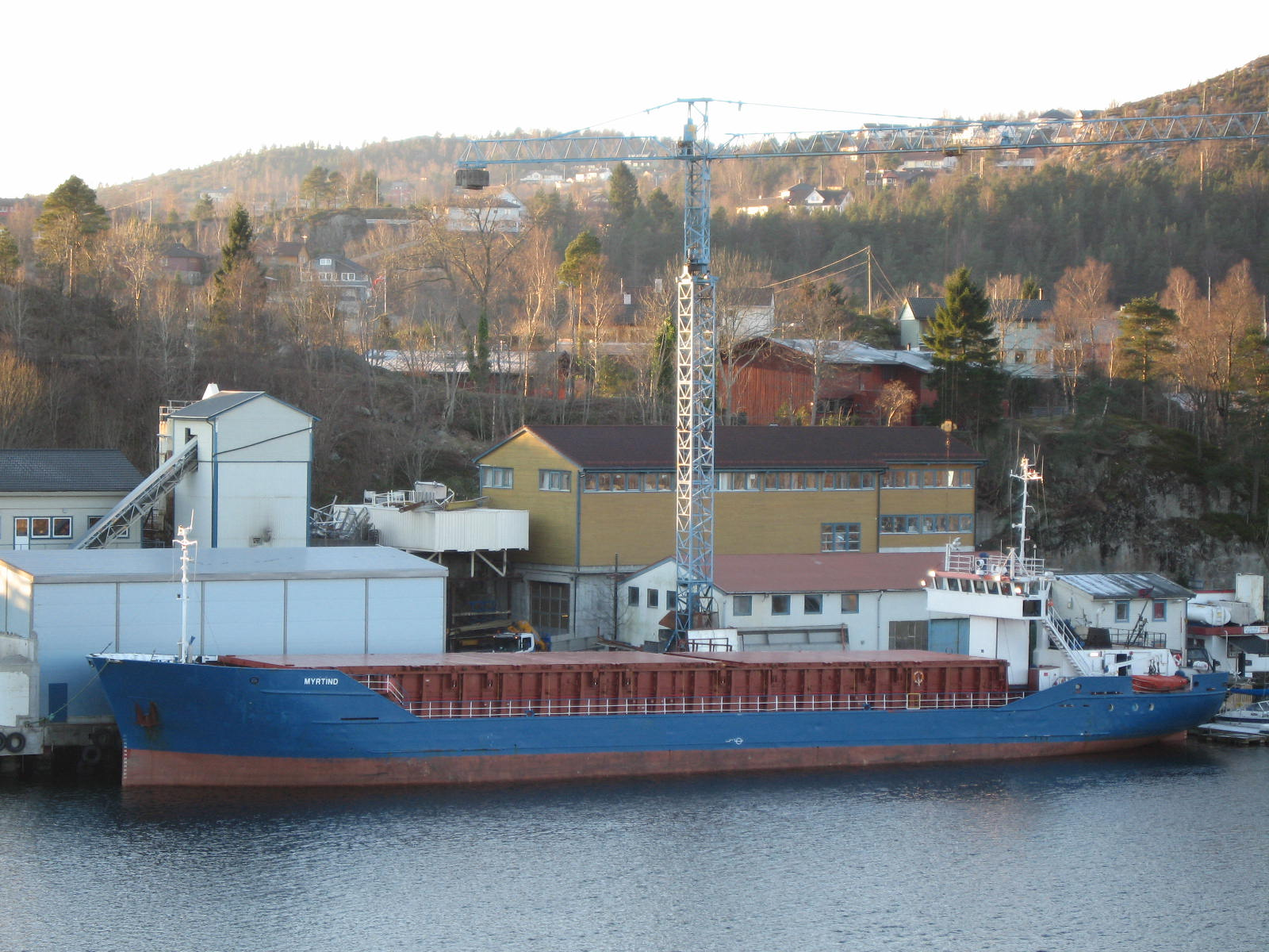 Brukte glassfibertanker